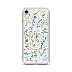 45's Hilarious Nicknames 2 - iPhone Case
