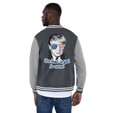 Load image into Gallery viewer, The Best Is Yet To Come - Men's Letterman Jacket