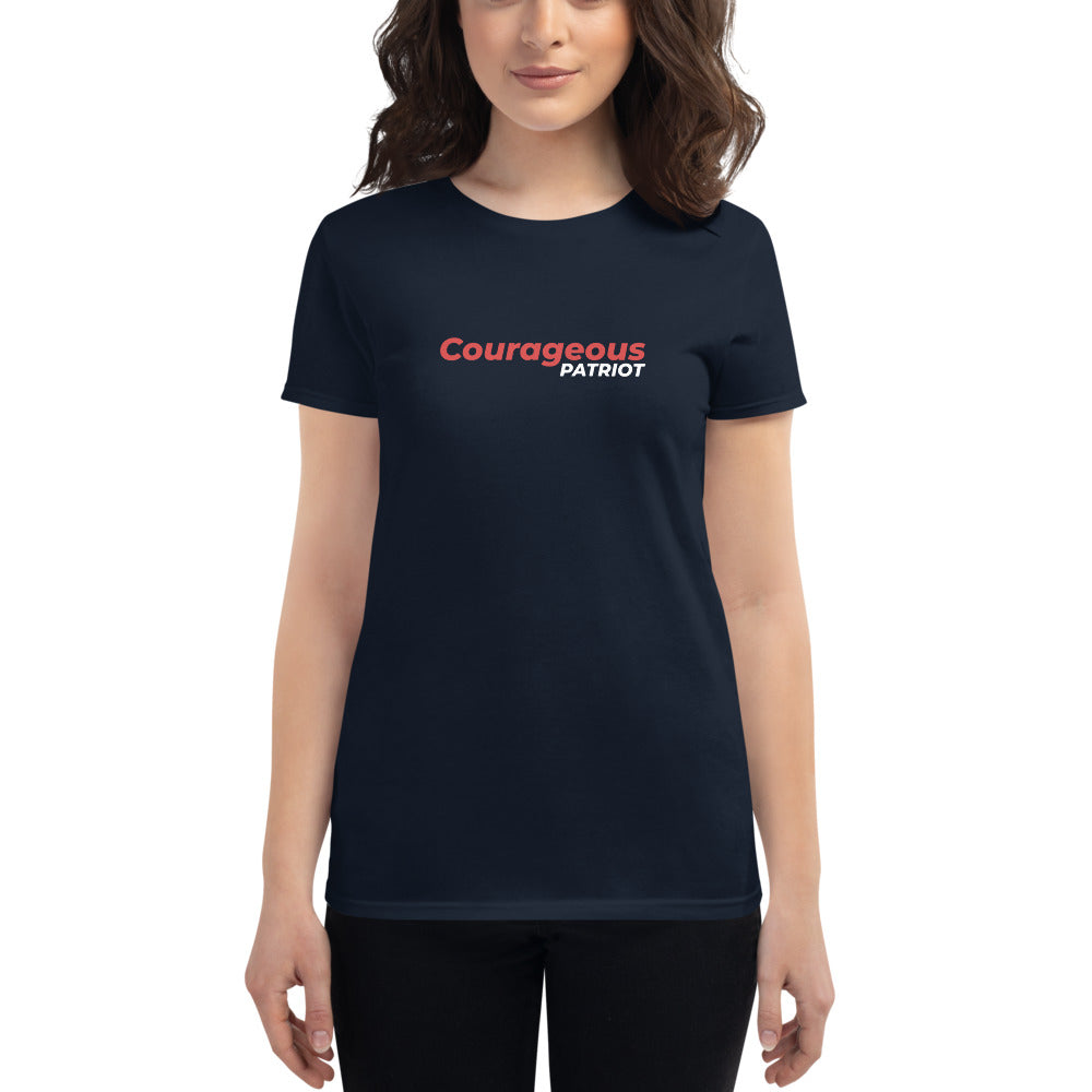Courageous Patriot 1 - Women's short sleeve t-shirt