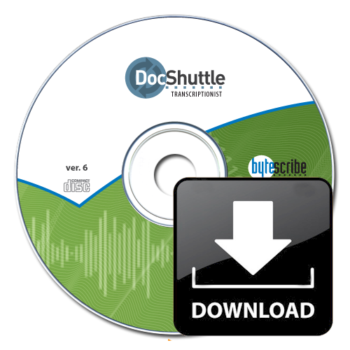 DocShuttle Transcriptionist (software download)