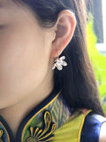 Lotus Flower Stud and Drop Earrings