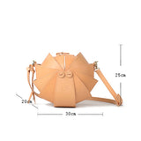 Round Leather Shoulder Beetle Bag Sale