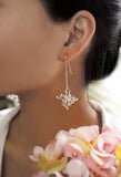 Jingle Flower Drop Earrings and studs