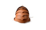 Beetle Leather Backpack Large Size