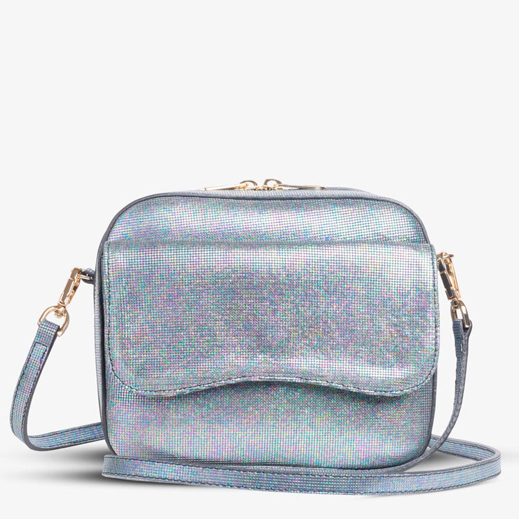MELLY BOX CAMERA BAG - SPARKLY NIGHT PIXEL