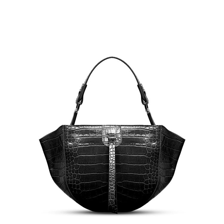 WANDY CROCO EMBOSSED PURSE