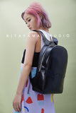 Promotion Leather Computer Backpack | Black
