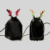 Christmas Antlers Banquet Party Handbag