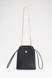 Box Bag with Chain | Black