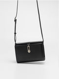 Leather Square Mini Messenger Bag -SALE