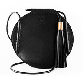 Promotion Handmade Drawstring Leather Shoulder Bag