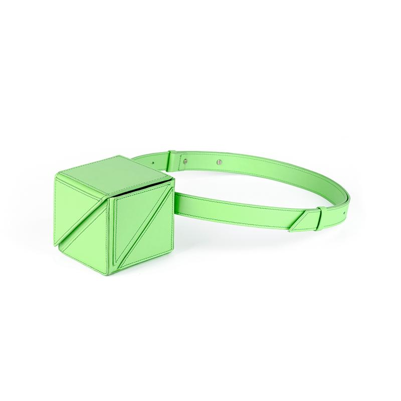 CUBE MINI BAG | GREEN