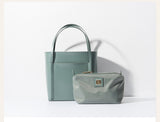 Seamless  Small Tote Leather Handbag