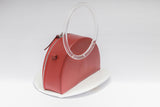 Half Moon Box Bag Two tone | Red