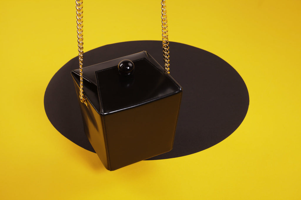 Boxy Square Leather Bag
