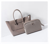 Leather Tote Handbag | Large