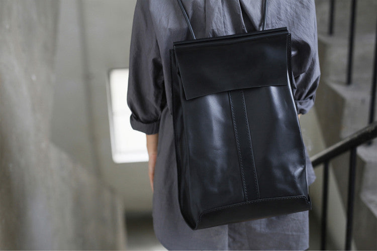 Promotion Large Men's Leather Backpack