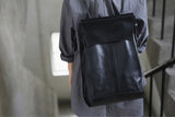 Large Men's Leather Backpack