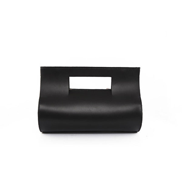 Tube Handmade Leather Clutch