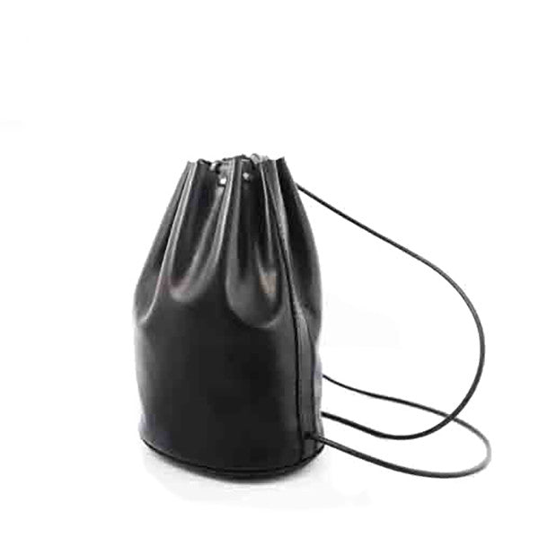 Promotion Drawstring Soft Leather Backpack