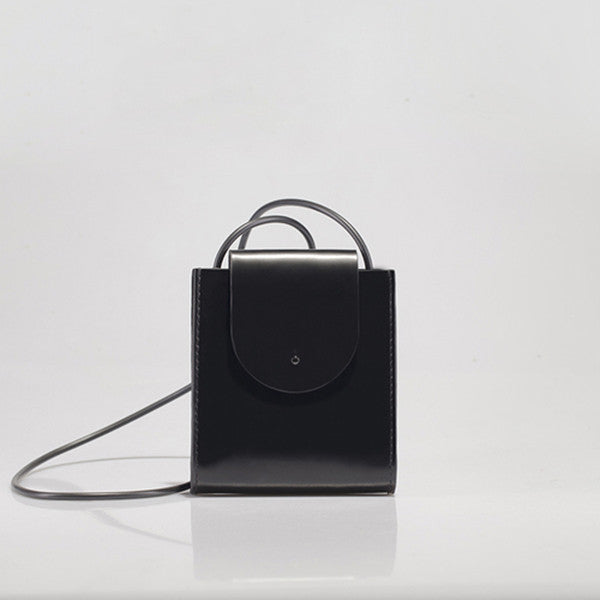 Promotion Handmade Mini Square Leather Bag