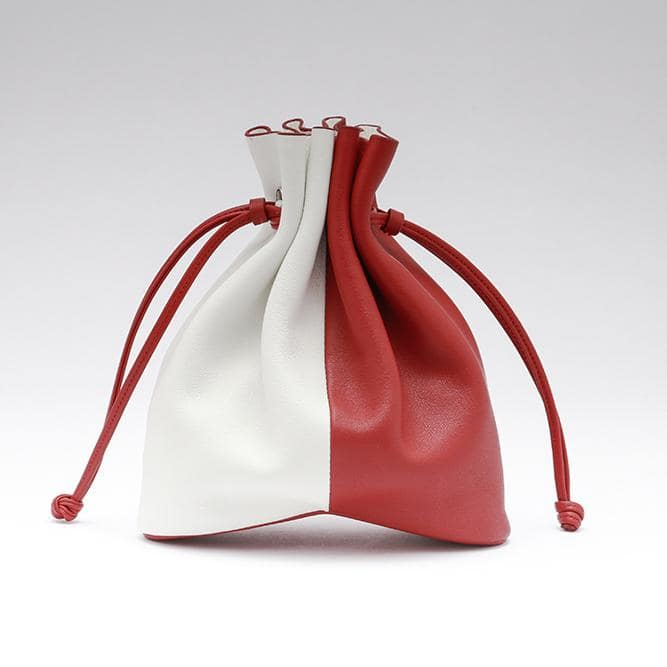 Bucket bag Handmade Leather | Two Tone