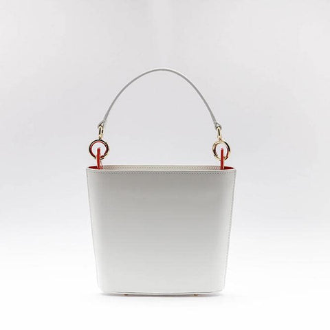 Jia Bucket Bag | White