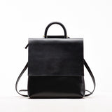 Promotion Black Leather Backpack