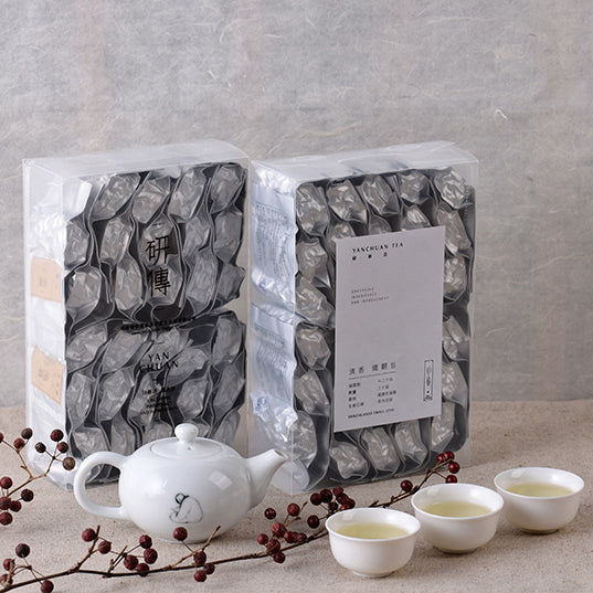 OOLONG Tea from Tieguanyin Gift BOX (Xiaoqing tea aroma)