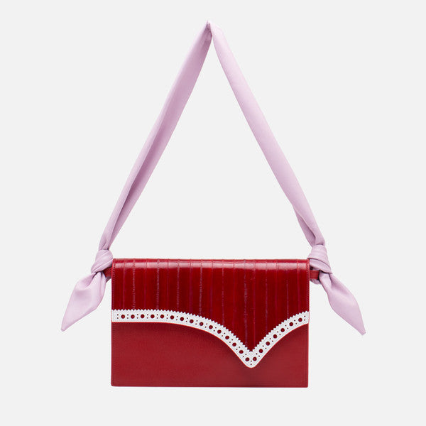 Envelope Crossbody Bag | Red