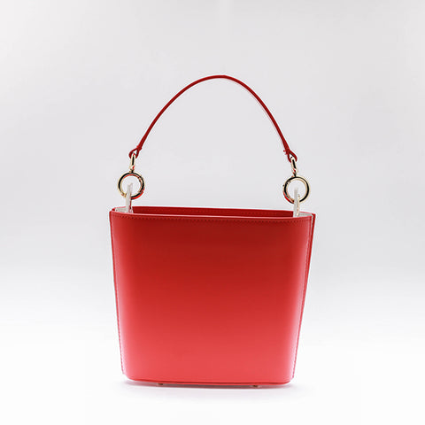 Jia Bucket Bag | Red