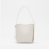 Leather Two Tone Tote - SALE