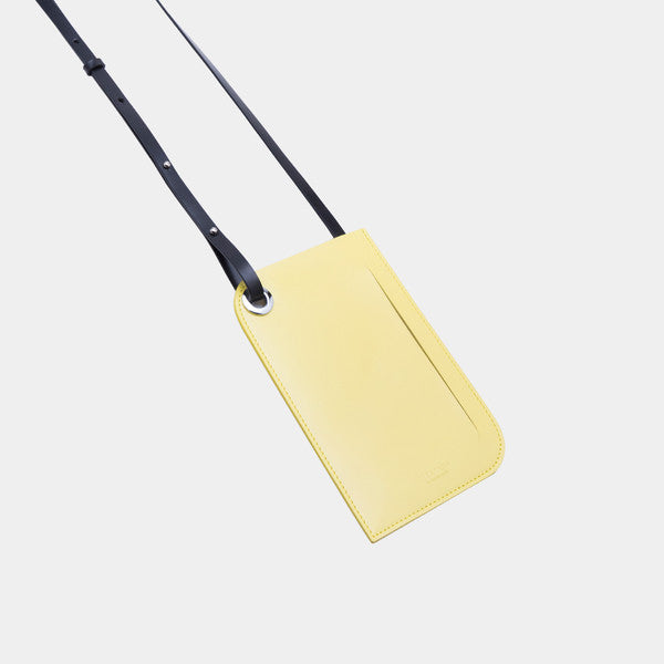 Promotion Leather Phone Clutch Bag | Light Yellow