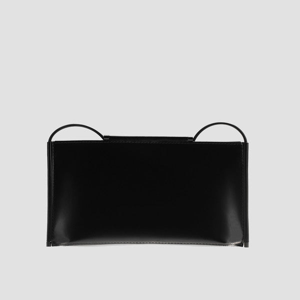 Large Rectangular Leather Shoulder Bag