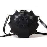 Promotion Round Leather Shoulder Beetle Bag