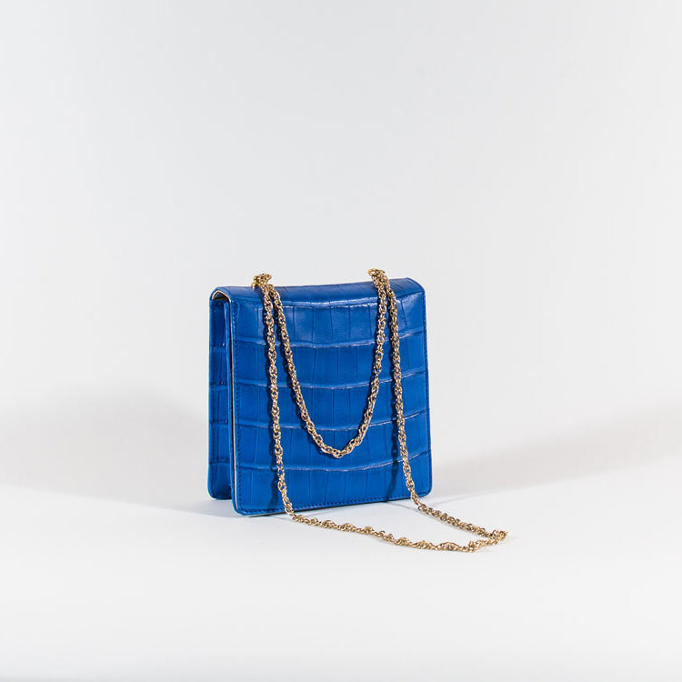 Replica 1954 Bag -Croco Blue