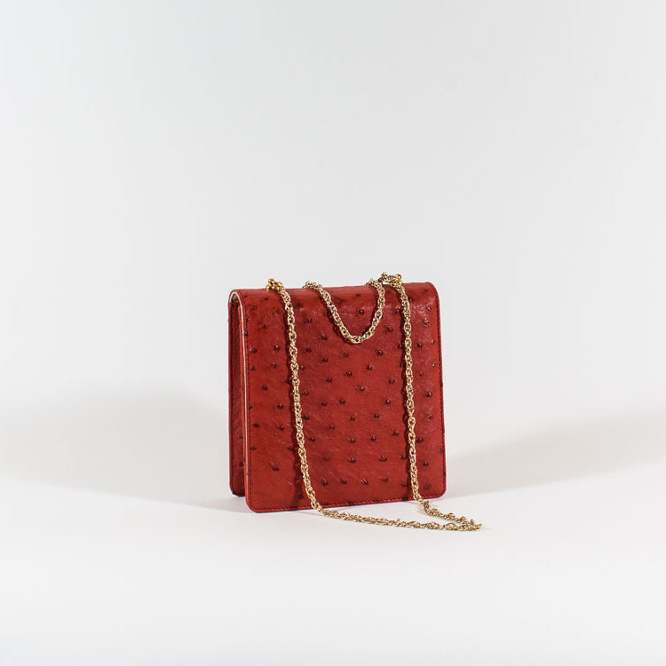 Replica 1954 Bag - Ostrich Red