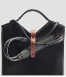 Hand Stitched Leather Shoulder Bag