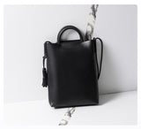 Oversized Black Tote Bag