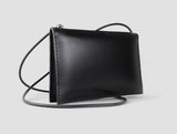 Promotion Handmade Leather Square Crossbody Bag