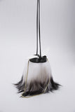 Tube Fur Bow Shoulder Bag