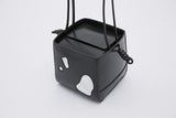 Promotion Mini Square Box Shoulder Bag | Black