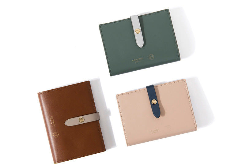 Leather Two Tone Wallet