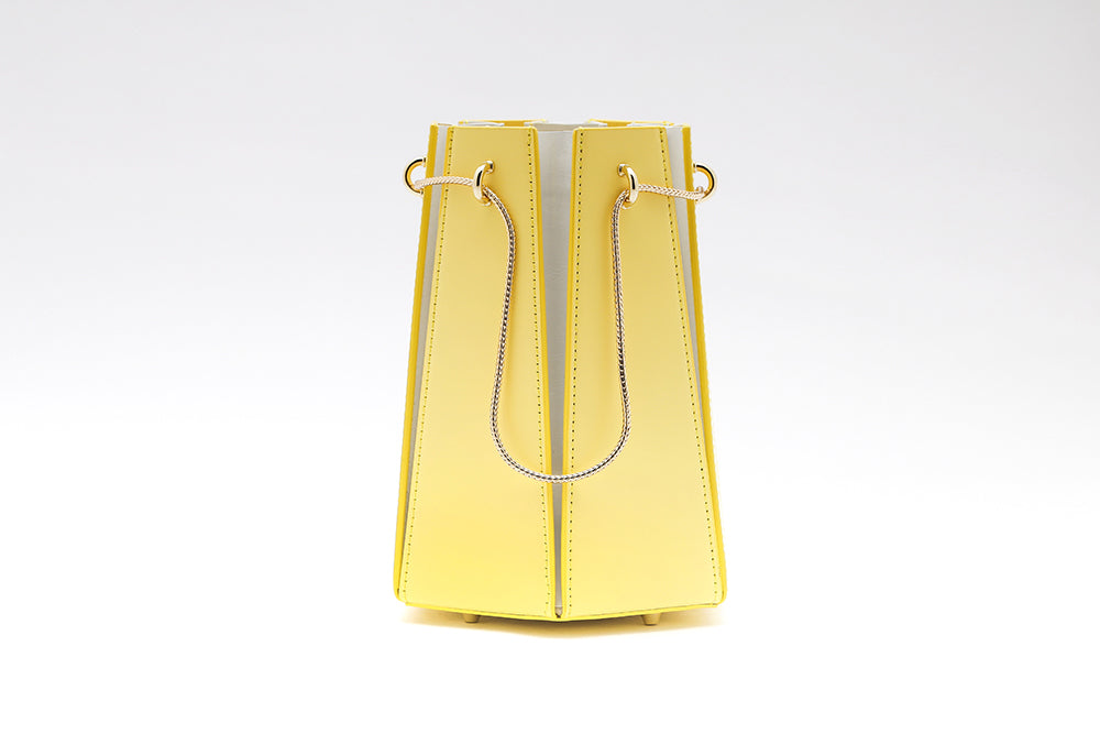 Hex Bucket Bag | Yellow