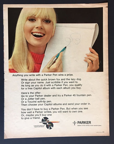 Women And Fountain Pens
