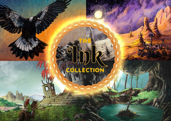 The ink collection - fantasy art by Heidi Monsant