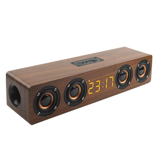 Wooden Bluetooth Soundbar