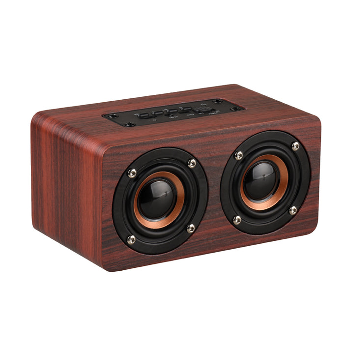 Wooden Wireless Bluetooth Speaker