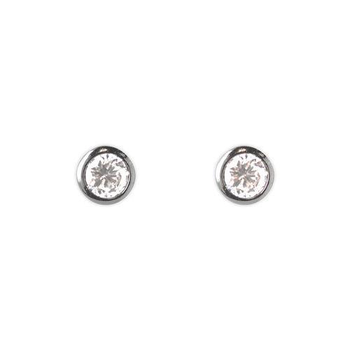 Jody Coyote Starry Night Cubic Zirconia Round Studs