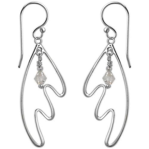 Jody Coyote Entourage Clear Crystal Earring